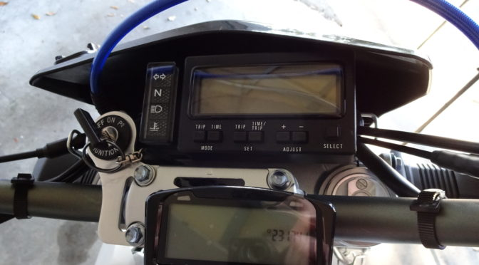 Trail Tech Vapor Dash Installation on Suzuki DR-Z400SM